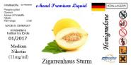 Honigmelone Sturm Liquid by e-head 0 mg / ml