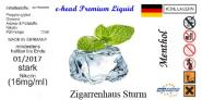 Menthol Sturm Liquid by e-head 11 mg / ml