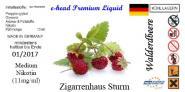 Walderdbeer Sturm Liquid by e-head 16 mg / ml