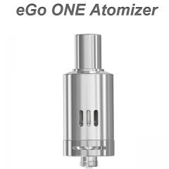 eGo ONE Atomizer 1,8 ml Edelstahl