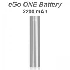 eGo ONE Batterie edelstahl 2200 m Ah