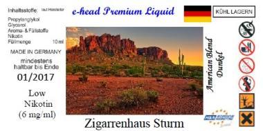 American Blend dunkel Sturm Liquid by e-head