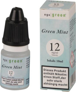 ego green Liquid Green Mint / Pfefferminz