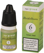 ego green Liquid Heidelbeere 10 ml