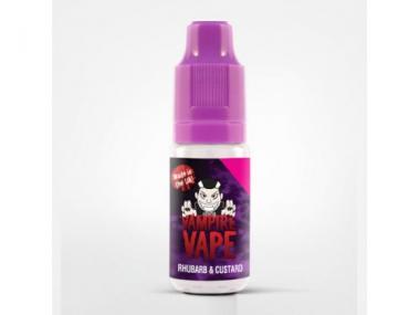 Vampire Vape E-Zigaretten Liquid Rhubarb Custard  10 ml
