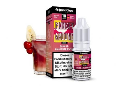 InnoCigs Monkey Around Bananen Amarenakirsche Aroma - Liquid 10 ml