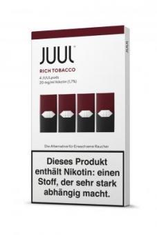 JUUL Pods Rich Tobacco 4er Pack