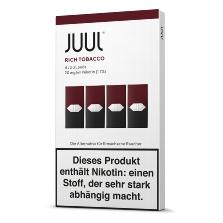 "JUUL Refill Kit ""Rich Tobacco"" 18mg Nikotin"